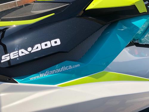 sea doo gti nueva 2018 nuevo color power trim y freno ibr