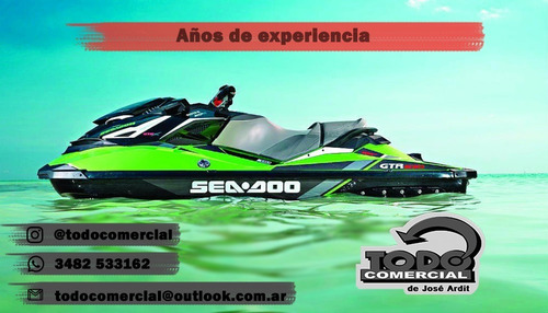 sea doo spark 2up 90hp usada en garantia