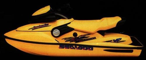sea doo xp 1997 - 110hp - 800cc - sucata retirada de pecas