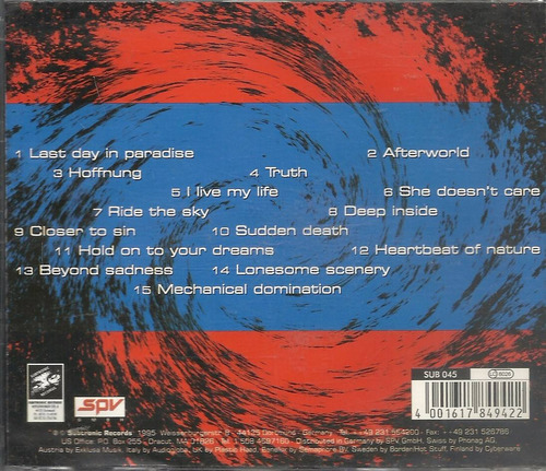 sea of sin watch out! 95 synthpop(ex/ex)cd import***