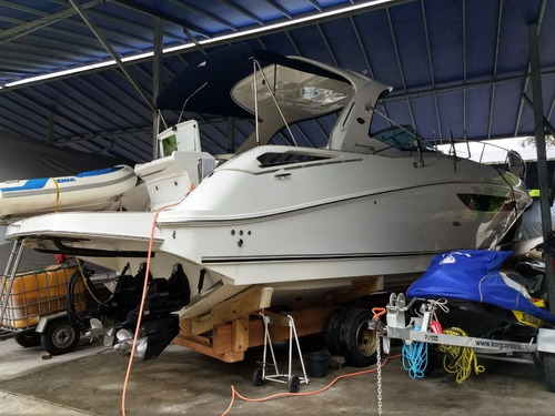sea ray 395, 2016 - 02 x qsd 350hp 205hrs - marina atlântica