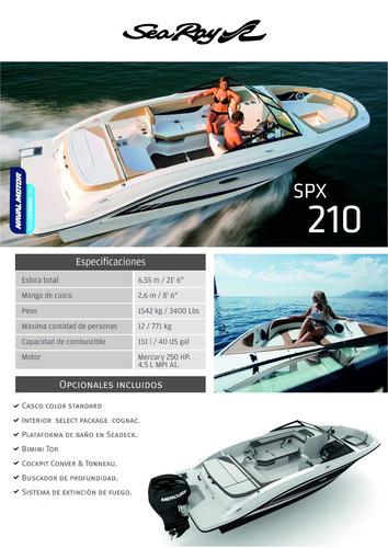 sea ray - spx 210