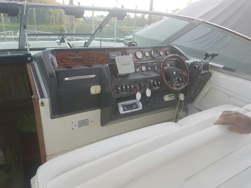 sea ray sundancer sportcruiser con 2 motores v8 mercruiser