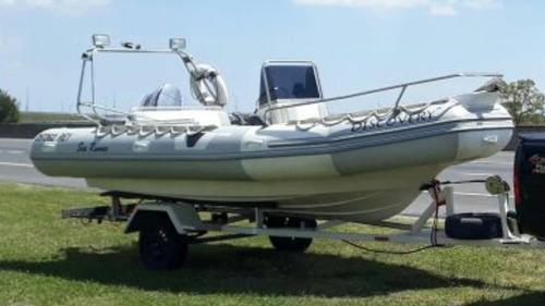 sea runner 560 con evinrude etec 90 hp ecologico apto lagos