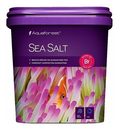 sea salt 25k aquaforest sal marina peces marinos acuario