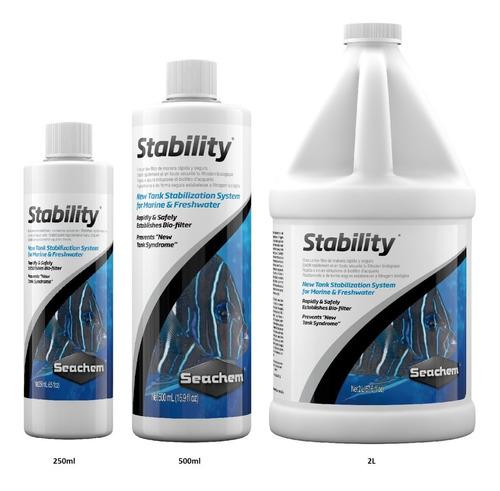 seachem stability 100ml activador biológico ciclado acuario