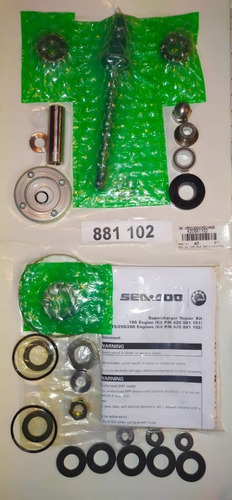 seadoo - kit de turbo original (rxt, gtr, rxp, gtx, wake)