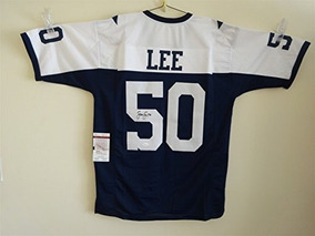 online store caa9d dbc6d Jersey Sean Lee Dallas Cowboys Throwback Game Jersey Playera ...