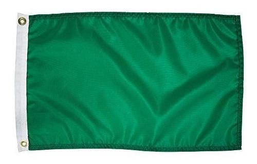 search 'n rescue unisex blank 12x18 blank flag, verde, 1