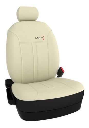 seat cover mkr de cuero automotor para chevrolet prisma