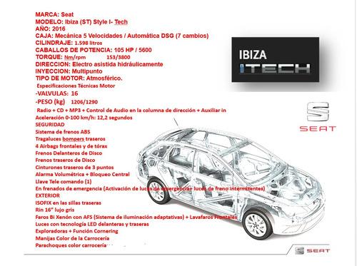 seat ibiza 1.6 style sw