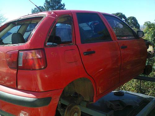 seat ibiza 2001 1.0 16v / mecânica/lataria/susp/acabamentos