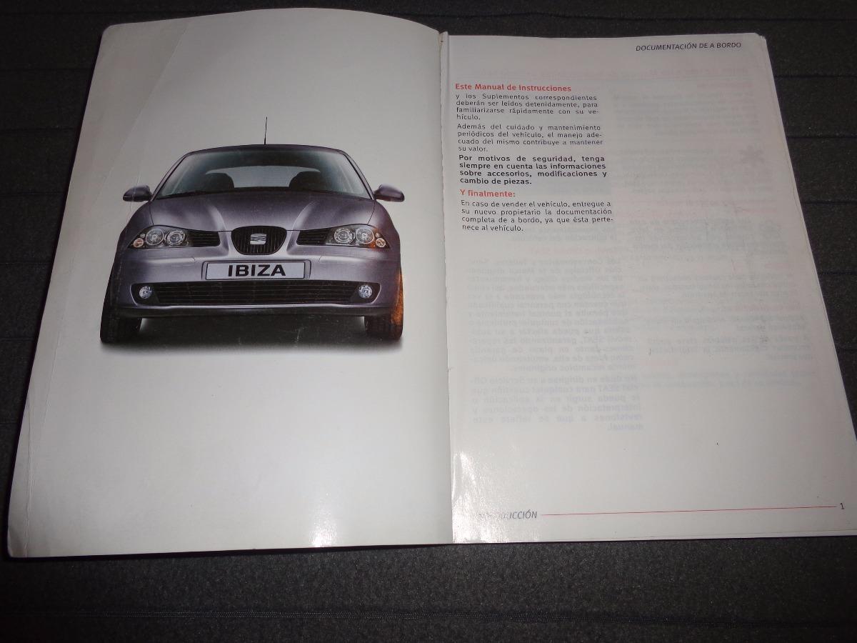 seat ibiza 2004 libro manual original set. Cargando zoom.
