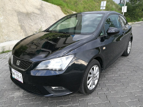 seat ibiza 2014 turbo, piel, totalmente equipado, impecable