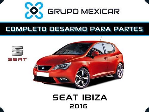 seat ibiza partes desarmo piezas autopartes seat ibiza 2016
