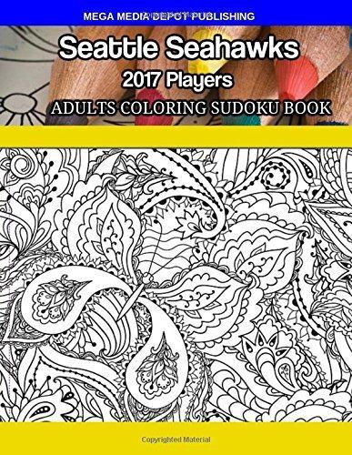 Seattle Seahawks 2017 Jugadores Adultos Colorear Libro De Su ...
