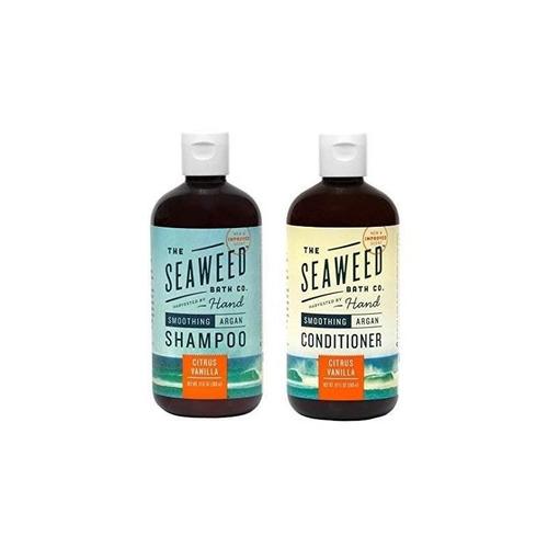 seaweed bath company smoothing citrus todo el champú y acond