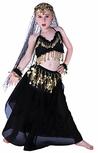 Seawhisper Black Aladdin Disfraces De Halloween Para Niñas B