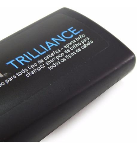 sebastian trilliance shampoo x 250ml brillo todo tipo pelo