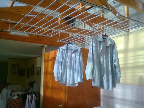 seca tu ropa sin ocupar espacio con sistema de poleas