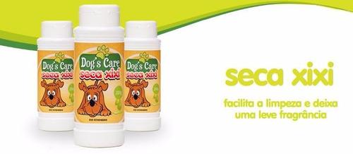 seca xixi  -  higienizador dog's care p/varrer - 200 gr