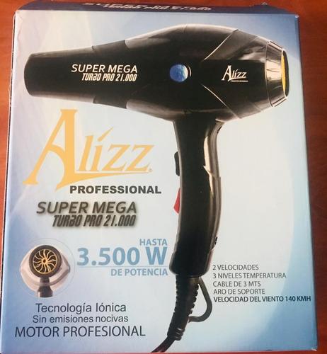 secador alizz super profesional mega turbo ionic 21.000