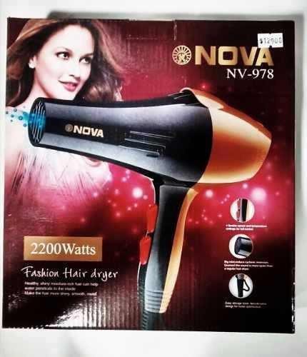 secador cabello profesional 2200w+obsequio