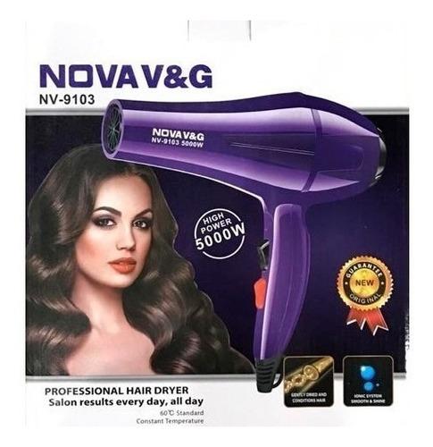 secador cabello profesional nova nv9103 5000watts salon