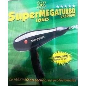 Secador Cabello Supermegaturbo Original 27000rpm Profesional