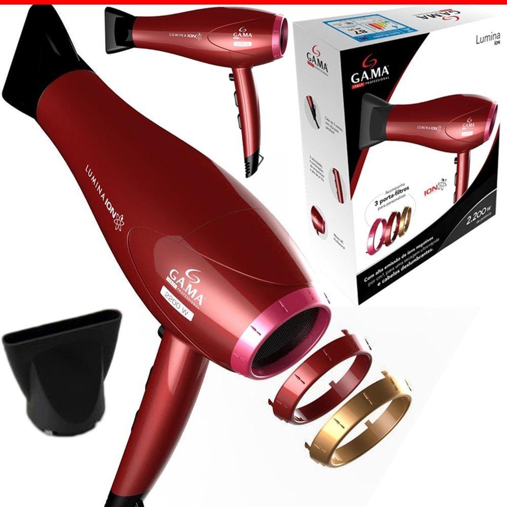 8d46172f2 secador cabelos profissional lumina íon motor ac 2200w 110v. Carregando  zoom.