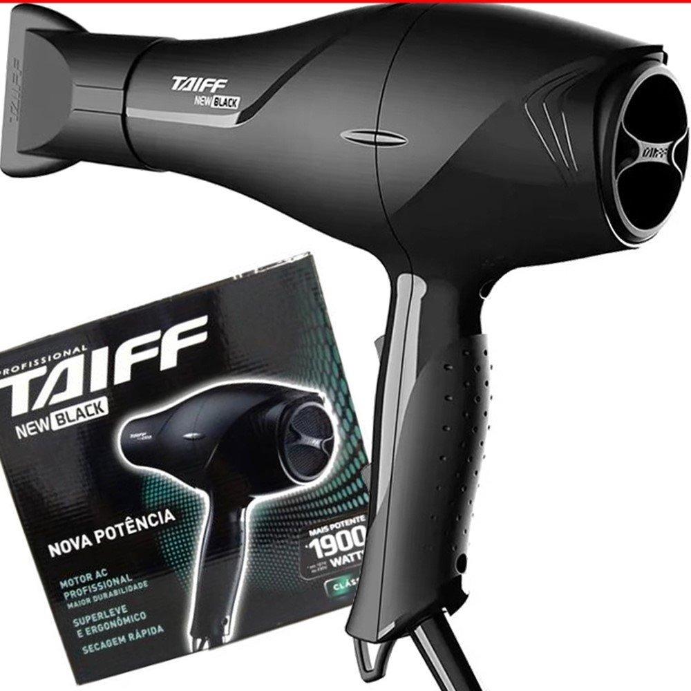 bba10927d secador cabelos profissional taiff new black ac 1900w 110v. Carregando zoom.