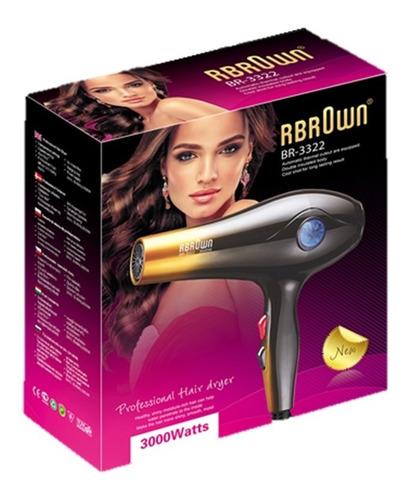 secador de cabello profesional rbrown modelo br-3322 8694