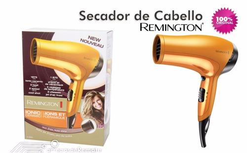 secador de cabello remington d-3015 1875watt  ionico dorado
