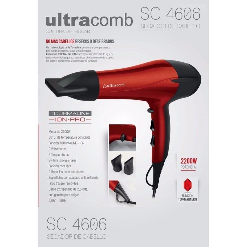 Secador De Cabello Ultracomb Sc4606 2200 Watts -   869 7f7a5b1f8c0a