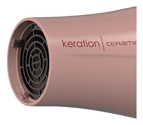 secador de cabelo gama keration ceramic ion rose 2000w 110v