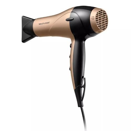 secador de cabelo gold dourado multilaser 127v modelo eb019