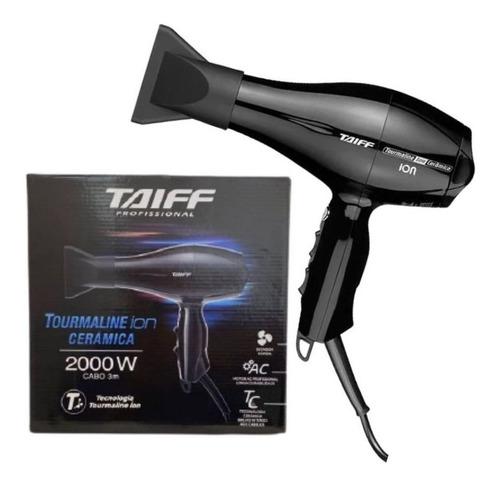 secador de cabelo taiff  tourmaline ion cerâmica 2000w 127v