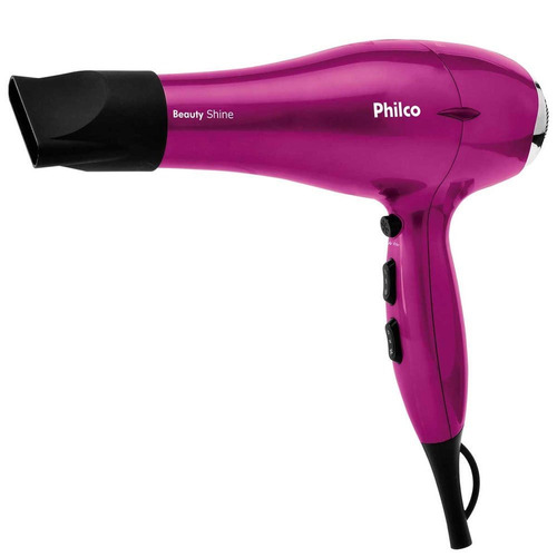 secador de cabelos philco beauty shine ions 2000w 053501023