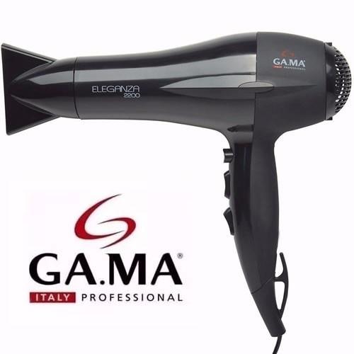secador de cabelos profissional gama 2000w ar frio e quente