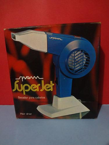 secador de cabelos spam super jet anos 70