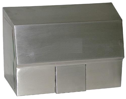 secador de manos acero inoxidable de sensor 110 v.