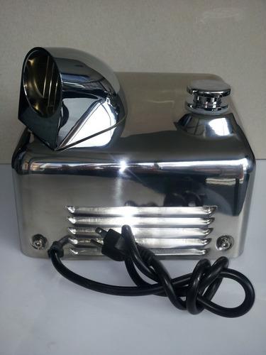 secador de manos en acero inoxidable 304