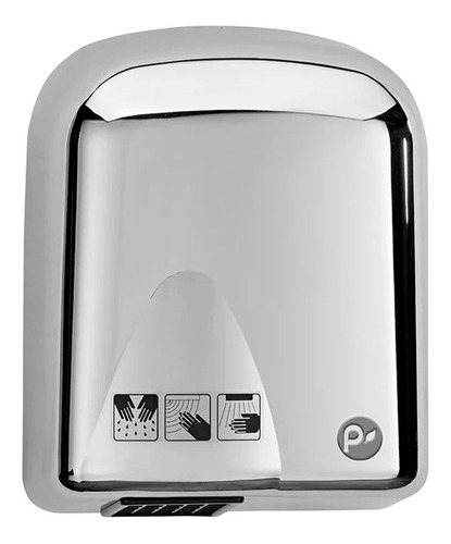 secador de manos industrial, acero inoxidable alta calidad
