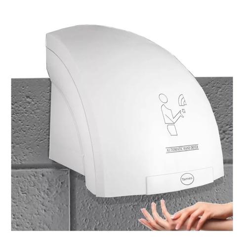 secador de manos sensor automático blanco 110v institucional