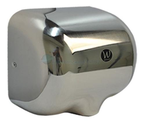 secador de manos tornado secado rápido en acero inoxidable,