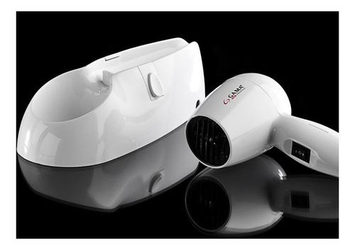 secador de pelo base pared gama diffusion ideal hotel baño