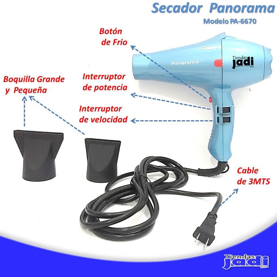 Secador De Pelo Calienta Rapido Panorama Profesiona 1500w Tj - Bs ... d3304427929b