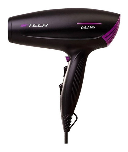 secador de pelo gama air tech ion ceramic 2200w profesional