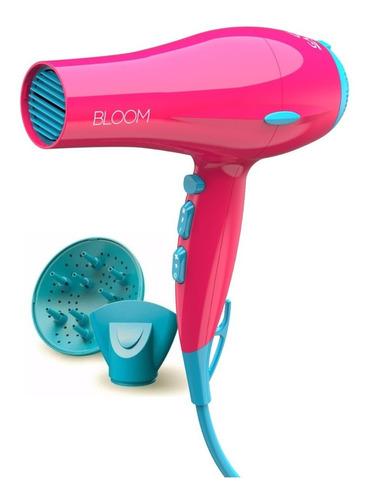 secador de pelo gama bloom eleganza ion 2400w color pink