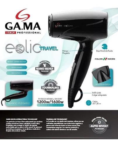 secador de pelo gama compacto - 1300w - 2 vel - ideal viajes